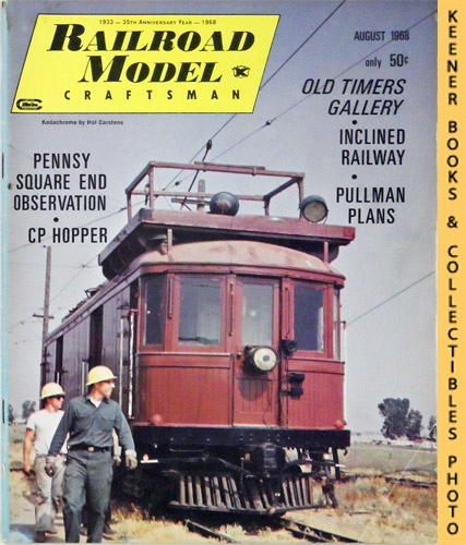 Image for Railroad Model Craftsman Magazine, August 1968 (Vol. 37, No. 2)