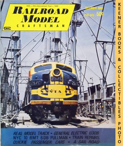 Image for Railroad Model Craftsman Magazine, December 1968 (Vol. 37, No. 7)