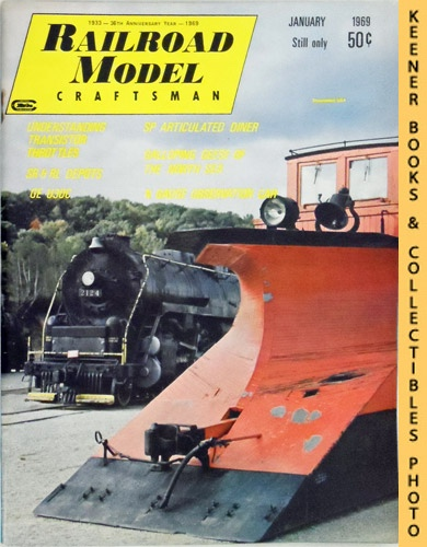 Image for Railroad Model Craftsman Magazine, January 1969 (Vol. 37, No. 8)