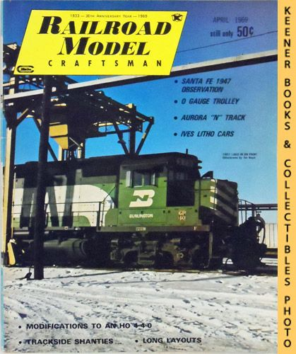 Image for Railroad Model Craftsman Magazine, April 1969 (Vol. 37, No. 11)