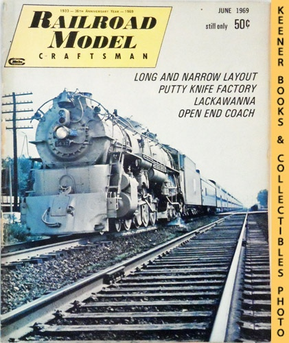 Image for Railroad Model Craftsman Magazine, June 1969 (Vol. 38, No. 1)