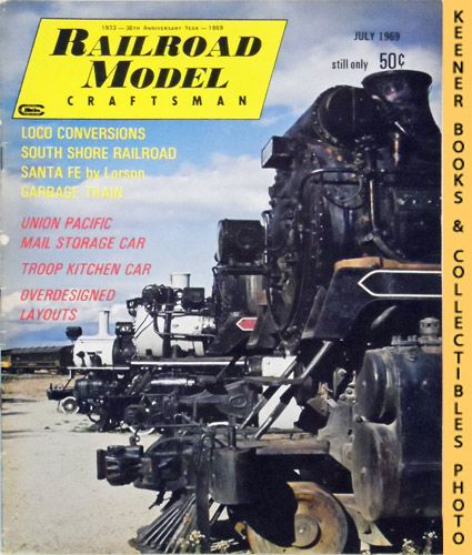 Image for Railroad Model Craftsman Magazine, July 1969 (Vol. 38, No. 2)