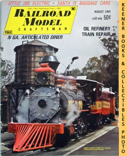 Image for Railroad Model Craftsman Magazine, August 1969 (Vol. 38, No. 3)
