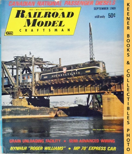 Image for Railroad Model Craftsman Magazine, September 1969 (Vol. 38, No. 4)