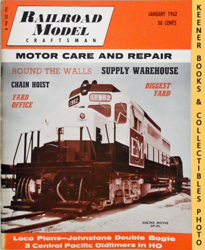 Image for Railroad Model Craftsman Magazine, January 1962 (Vol. 30, No. 8)