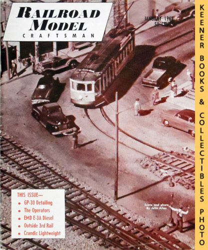 Image for Railroad Model Craftsman Magazine, January 1964 (Vol. 32, No. 8)