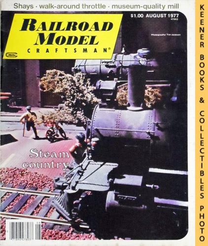 Image for Railroad Model Craftsman Magazine, August 1977 (Vol. 46, No. 3)