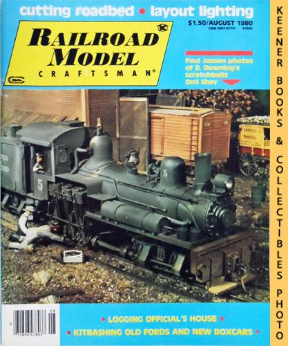 Image for Railroad Model Craftsman Magazine, August 1980 (Vol. 49, No. 3)