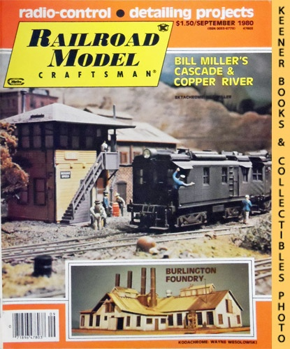 Image for Railroad Model Craftsman Magazine, September 1980 (Vol. 49, No. 4)