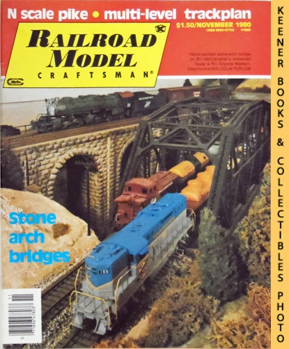 Image for Railroad Model Craftsman Magazine, November 1980 (Vol. 49, No. 6)