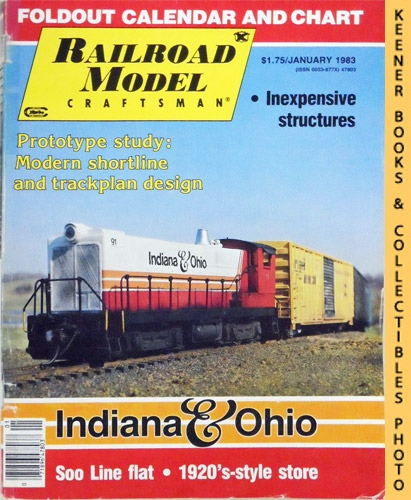Image for Railroad Model Craftsman Magazine, January 1983 (Vol. 51, No. 8)