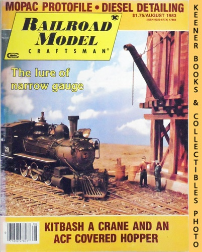 Image for Railroad Model Craftsman Magazine, August 1983 (Vol. 52, No. 3)