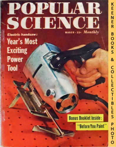 Image for Popular Science Monthly Magazine, March 1958 (Vol. 172, No. 3) : Mechanics - Autos - Homebuilding
