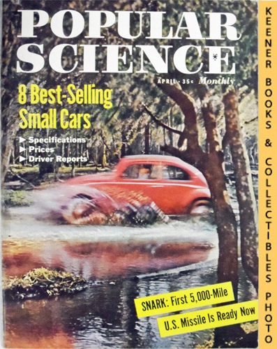 Image for Popular Science Monthly Magazine, April 1958 (Vol. 172, No. 4) : Mechanics - Autos - Homebuilding
