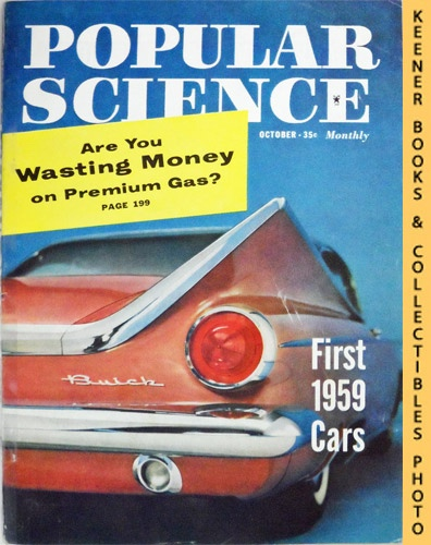 Image for Popular Science Monthly Magazine, October 1958 (Vol. 173, No. 4) : Mechanics - Autos - Homebuilding