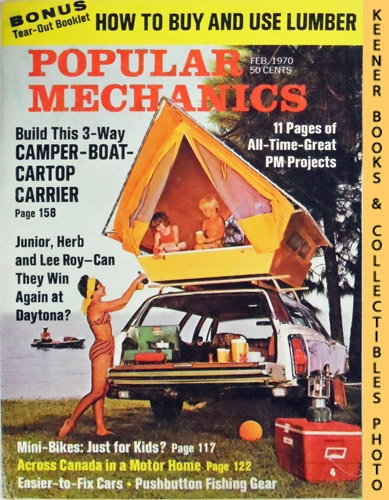 Image for Popular Mechanics Magazine, February 1970 (Vol. 133, No. 2)