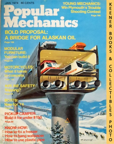 Image for Popular Mechanics Magazine, January 1974 (Vol. 141, No. 1)