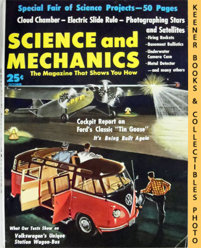 Image for Science and Mechanics Magazine, October 1958 (Vol. XXIX, No. 5, Whole No. 174)