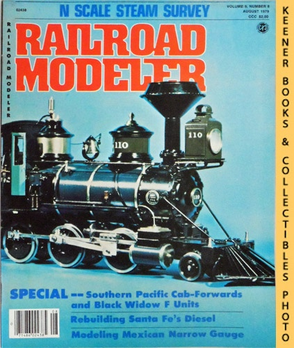 Image for Railroad Modeler Magazine, August 1979 (Vol. 9, No. 8)