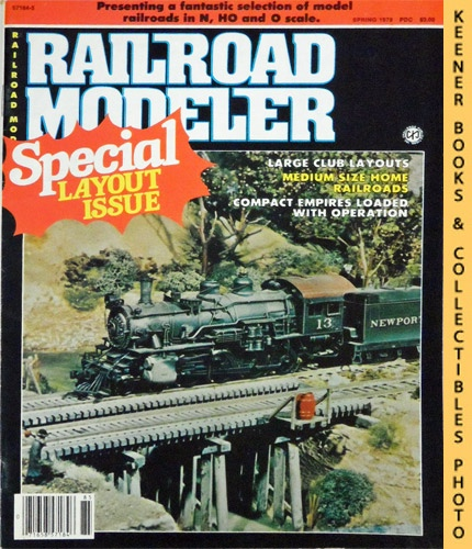 Image for Railroad Modeler Magazine, Special Layout Issue, Spring 1979