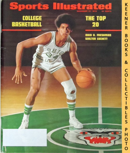 Image for Sports Illustrated Magazine, November 27, 1972 (Vol 37, No. 22) : College Basketball - The Top 20 - Ohio U. Freshman Walter Luckett