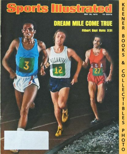 Image for Sports Illustrated Magazine, May 26, 1975 (Vol 42, No. 21) : Dream Mile Come True - Filbert Bayi Runs 3:51