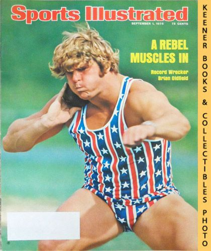 Image for Sports Illustrated Magazine, September 1, 1975 (Vol 43, No. 9) : A Rebel Muscles In - Record Wrecker Brian Oldfield
