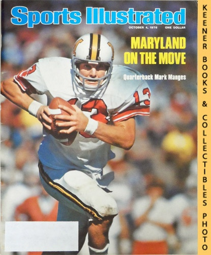 Image for Sports Illustrated Magazine, October 4, 1976 (Vol 45, No. 14) : Maryland On The Move - Quarterback Mark Manges