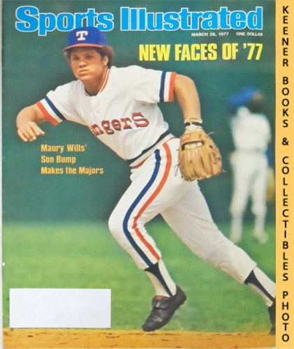 Image for Sports Illustrated Magazine, March 28, 1977 (Vol 46, No. 14) : New Faces of '77 - Maury Wills' Son Bump Makes the Majors