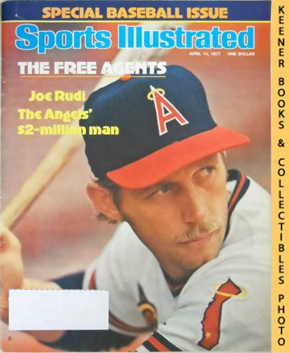 Image for Sports Illustrated Magazine, April 11, 1977 (Vol 46, No. 16) : The Free Agents - Joe Rudi, The Angels' $2-Million Man
