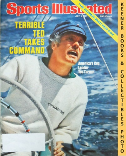 Image for Sports Illustrated Magazine, July 4, 1977 (Vol 47, No. 1) : Terrible Ted Takes Command - America's Cup Leader Ted Turner
