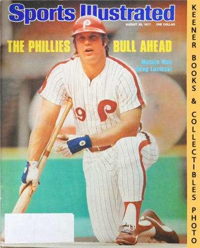 Image for Sports Illustrated Magazine, August 29, 1977 (Vol 47, No. 9) : The Phillies Bull Ahead - Muscle Man Greg Luzinski