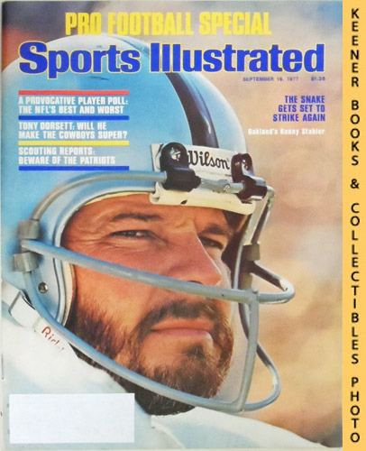 Image for Sports Illustrated Magazine, September 19, 1977 (Vol 47, No. 12) : The Snake Gets Set To Strike Again - Oakland's Kenny Stabler