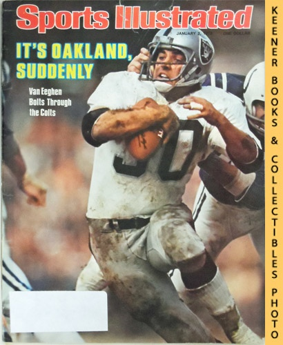 Image for Sports Illustrated Magazine, January 2, 1978 (Vol 48, No. 1) : It's Oakland Suddenly - Van Eeghen Bolts Through The Colts