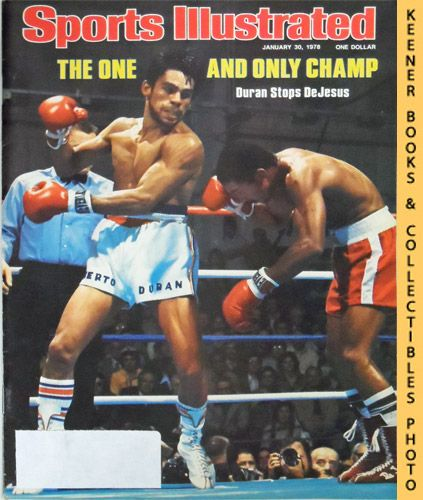Image for Sports Illustrated Magazine, January 30, 1978 (Vol 48, No. 5) : The One And Only Champ - Duran Stops DeJesus