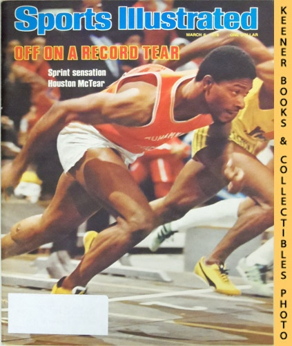 Image for Sports Illustrated Magazine, March 6, 1978 (Vol 48, No. 11) : Off On a Record Tear - Sprint Sensation Houston McTear