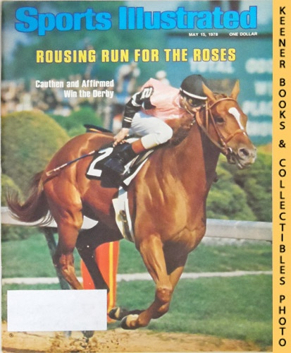 Image for Sports Illustrated Magazine, May 15, 1978 (Vol 48, No. 21) : Rousing Run For The Roses - Cauthen and Affirmed Win the Derby