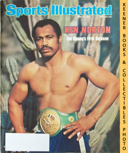 Image for Sports Illustrated Magazine, June 12, 1978 (Vol 48, No. 25) : Ken Norton, The Champ's First Defense