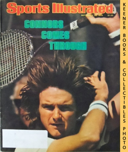 Image for Sports Illustrated Magazine, September 18, 1978 (Vol 49, No. 12) : Connors Comes Through