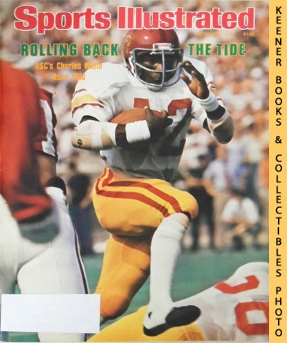 Image for Sports Illustrated Magazine, October 2, 1978 (Vol 49, No. 14) : Rolling Back The Tide - USC's Charles White Runs Wild