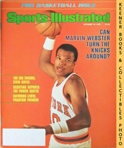 Image for Sports Illustrated Magazine, October 16, 1978 (Vol 49, No. 16) : Can Marvin Webster Turn The Knicks Around?