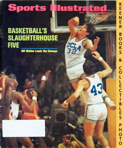 Image for Sports Illustrated Magazine, April 3, 1972 (Vol 36, No. 14) : Basketball's Slaughterhouse Five, Bill Walton Leads the Champs