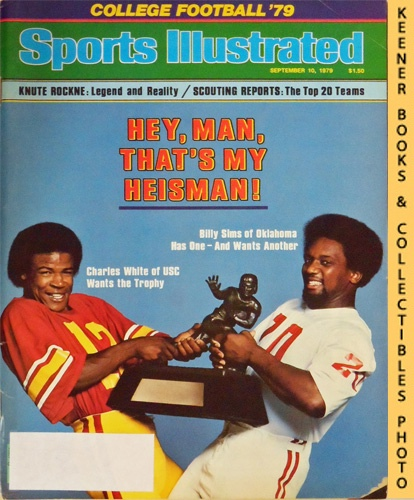 Image for Sports Illustrated Magazine, September 10, 1979 (Vol 51, No. 11) : College Football '79, Hey, Man, That's My Heisman! Charles White & Billy Sims
