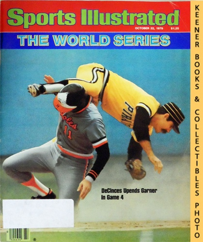 Image for Sports Illustrated Magazine, October 22, 1979 (Vol 51, No. 17) : The World Series, DeCinces Upends Garner In Game 4