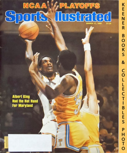 Image for Sports Illustrated Magazine, March 17, 1980 (Vol 52, No. 12) : NCAA Playoffs, Albert King Had The Hot Hand For Maryland