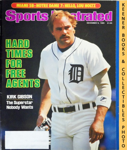 Image for Sports Illustrated Magazine, December 9, 1985 (Vol 63, No. 26) : Hard Times For Free Agents, Kirk Gibson, The Superstar Nobody Wants