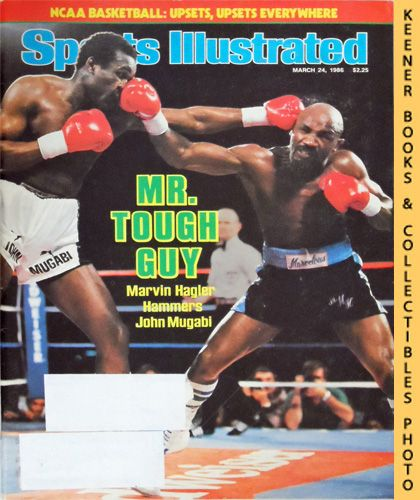 Image for Sports Illustrated Magazine, March 24, 1986 (Vol 64, No. 12) : Mr. Tough Guy - Marvin Hagler Hammers John Mugabi