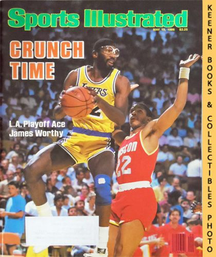 Image for Sports Illustrated Magazine, May 19, 1986 (Vol 64, No. 20) : Crunch Time - L. A. Playoff Ace James Worthy