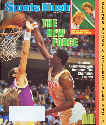 Image for Sports Illustrated Magazine, May 26, 1986 (Vol 64, No. 21) : The New Force - Houston's Akeem Olajuwon Hammers The Champion Lakers