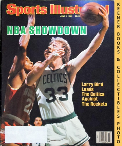 Image for Sports Illustrated Magazine, June 9, 1986 (Vol 64, No. 23) : NBA Showdown - Larry Bird Leads The Celtics Against The Rockets